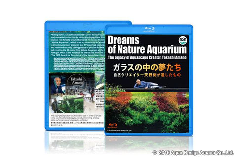 Dreams of Nature Aquarium (Blu-ray DVD) w/English subtitles