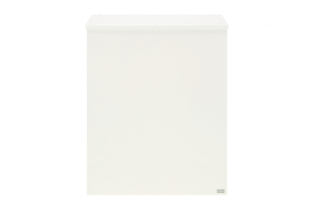 ADA Plain Cabinet (Off White)
