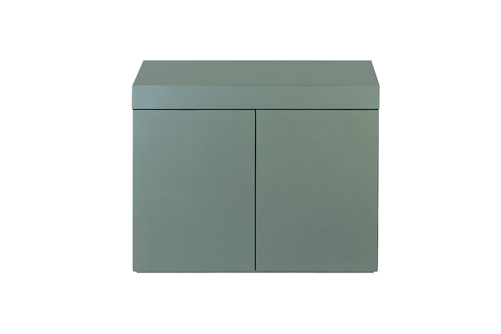 Wood Cabinet for Cube Garden W120xD45cm (Gun Metallic Silver)
