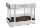 ADA Cube Garden 45-P Aquarium (Ultra High Clarity Glass)
