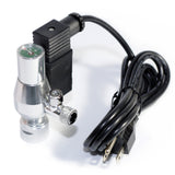 CO2 system kit with Archaea CO2 regulator (PRO) single gauge