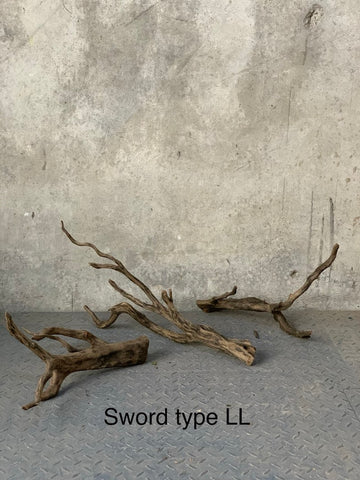 Forest Black Wood-Sword Type