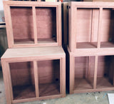 Archaea Wood Cabinet for rimless aquariums with base dimensions: L 45cm x W 45cm