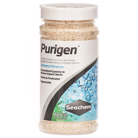 Seachem Purigen Ultimate Filtration (250 mL) -   - Treats 265 Gallons