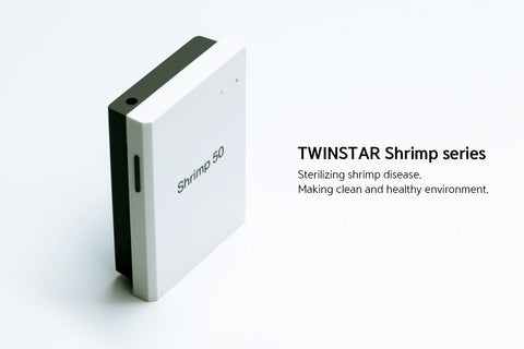 TWINSTAR-II Shrimp 50 (Prevention of shrimp disease) Reactor included