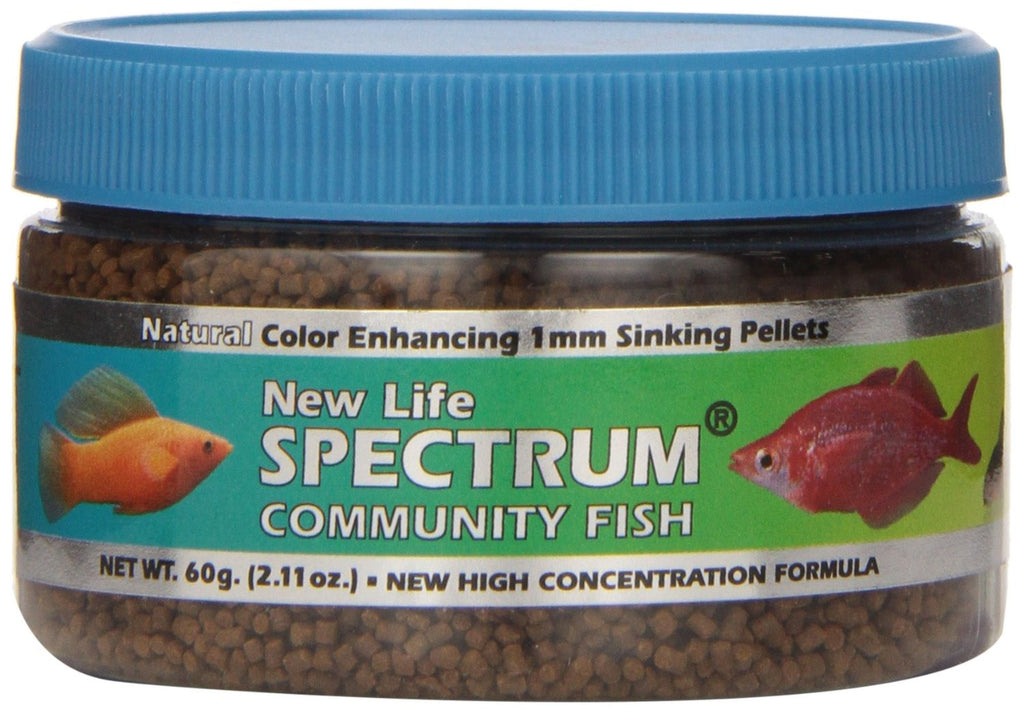 New Life Spectrum Community Formula (1mm sinking Pellets)