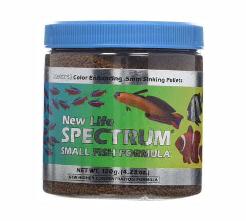 New Life Spectrum Small Fish Formula (.5mm sinking Pellets)