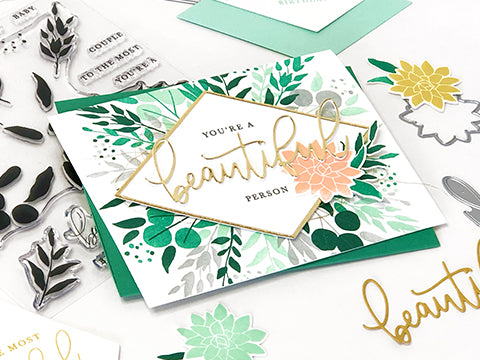 FEATURE FRIDAY: BOTANICAL TURNABOUT™ STAMP SET & DIES