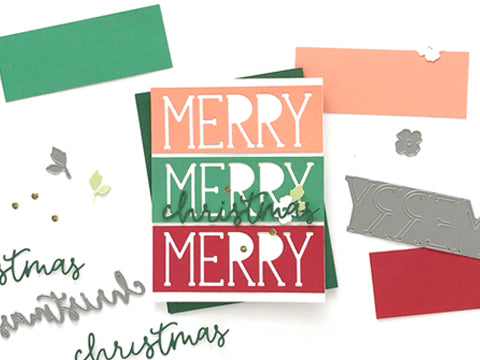 MAKE IT: MERRY, MERRY, MERRY CARD