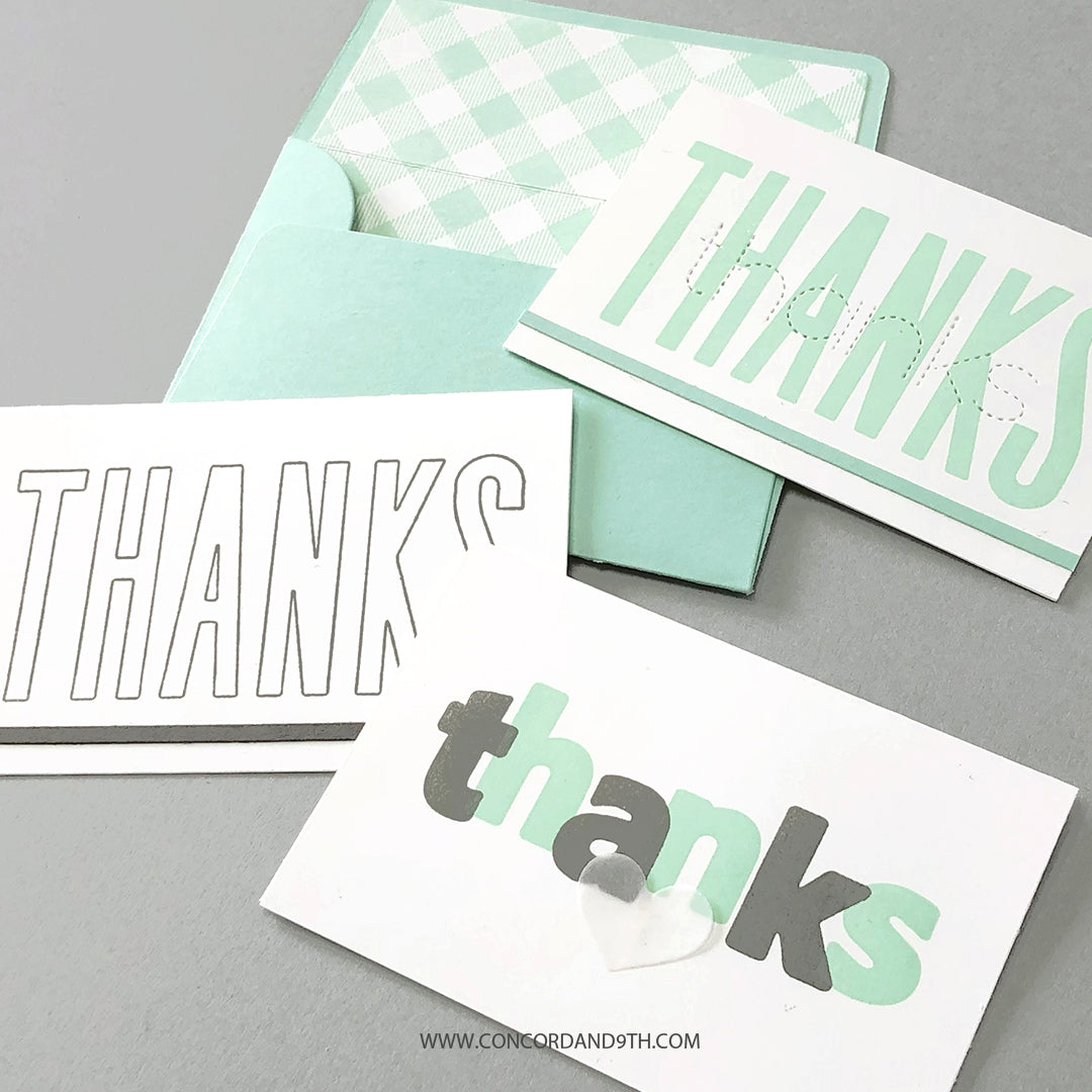 All the Thanks Stamp Set