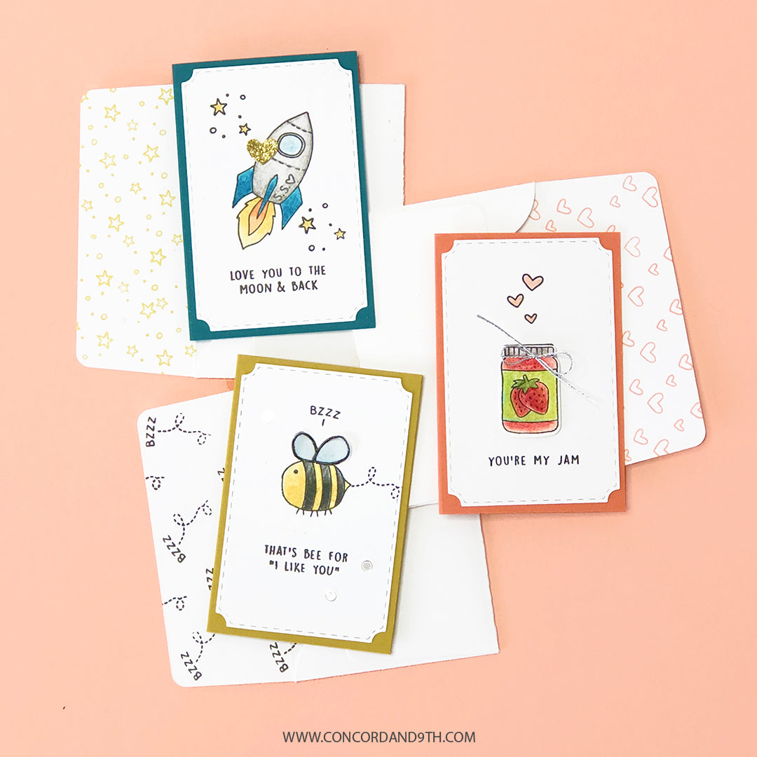 Be Mine Stamp Set