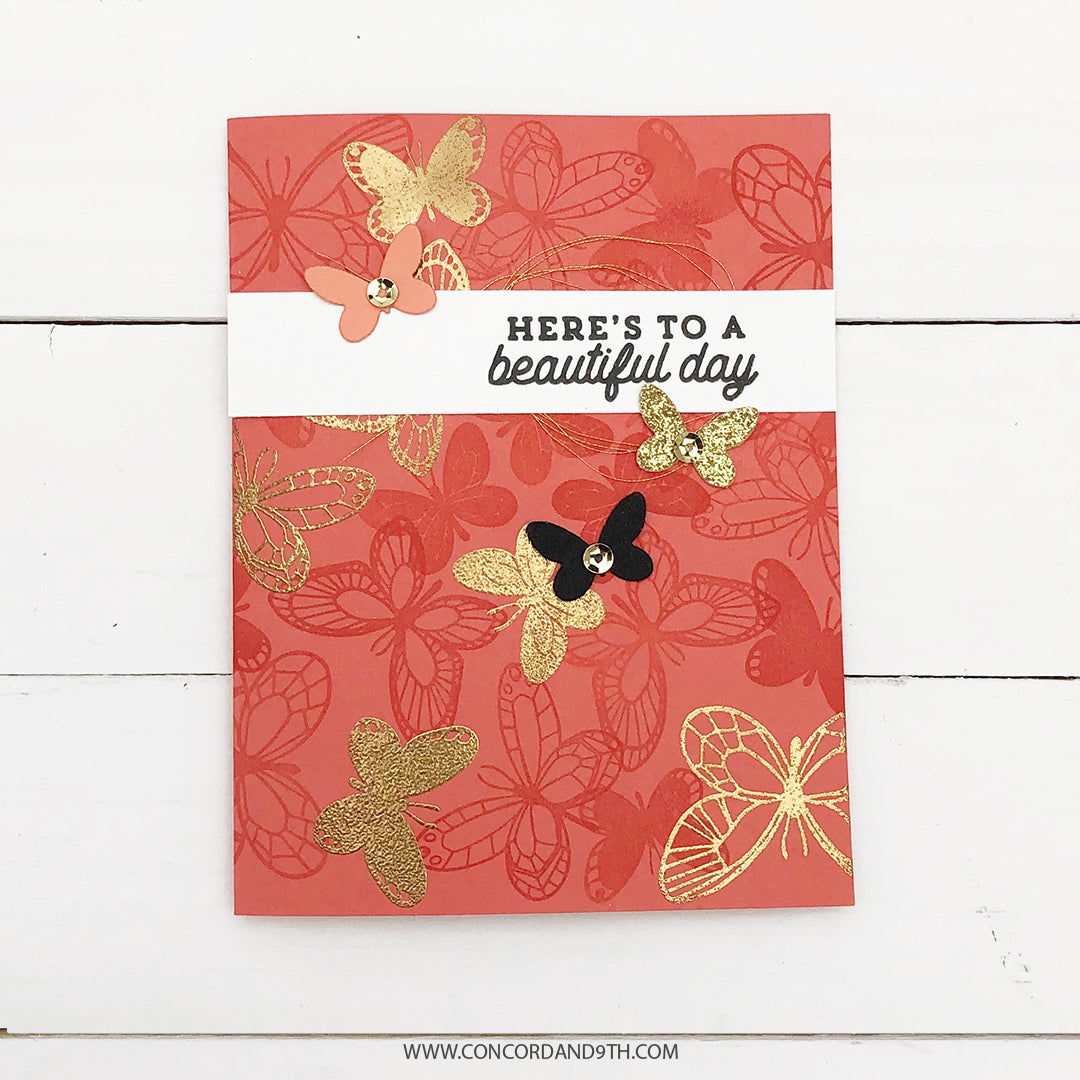 Beautiful Butterfly Pop-Up Dies