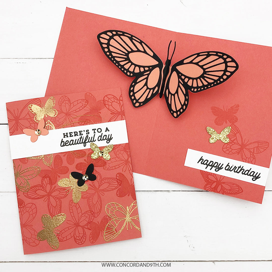 Beautiful Butterfly Stamp Set