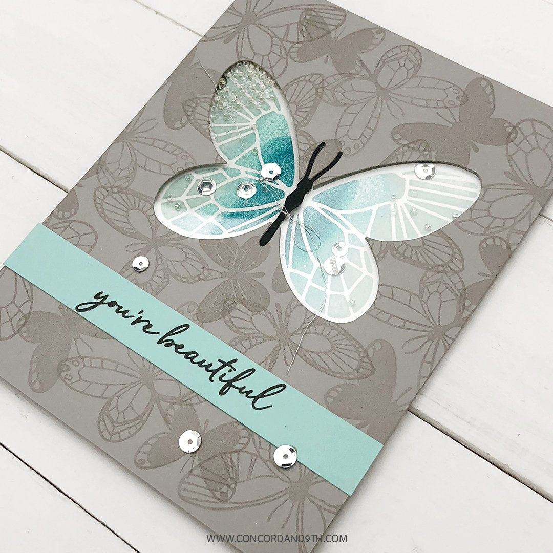 Butterfly Love Turnabout™ Stamp Set