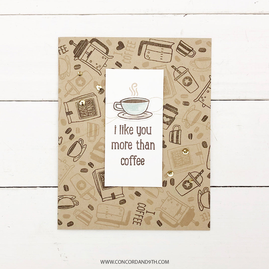 Coffee Blend Turnabout™ Stamp Set