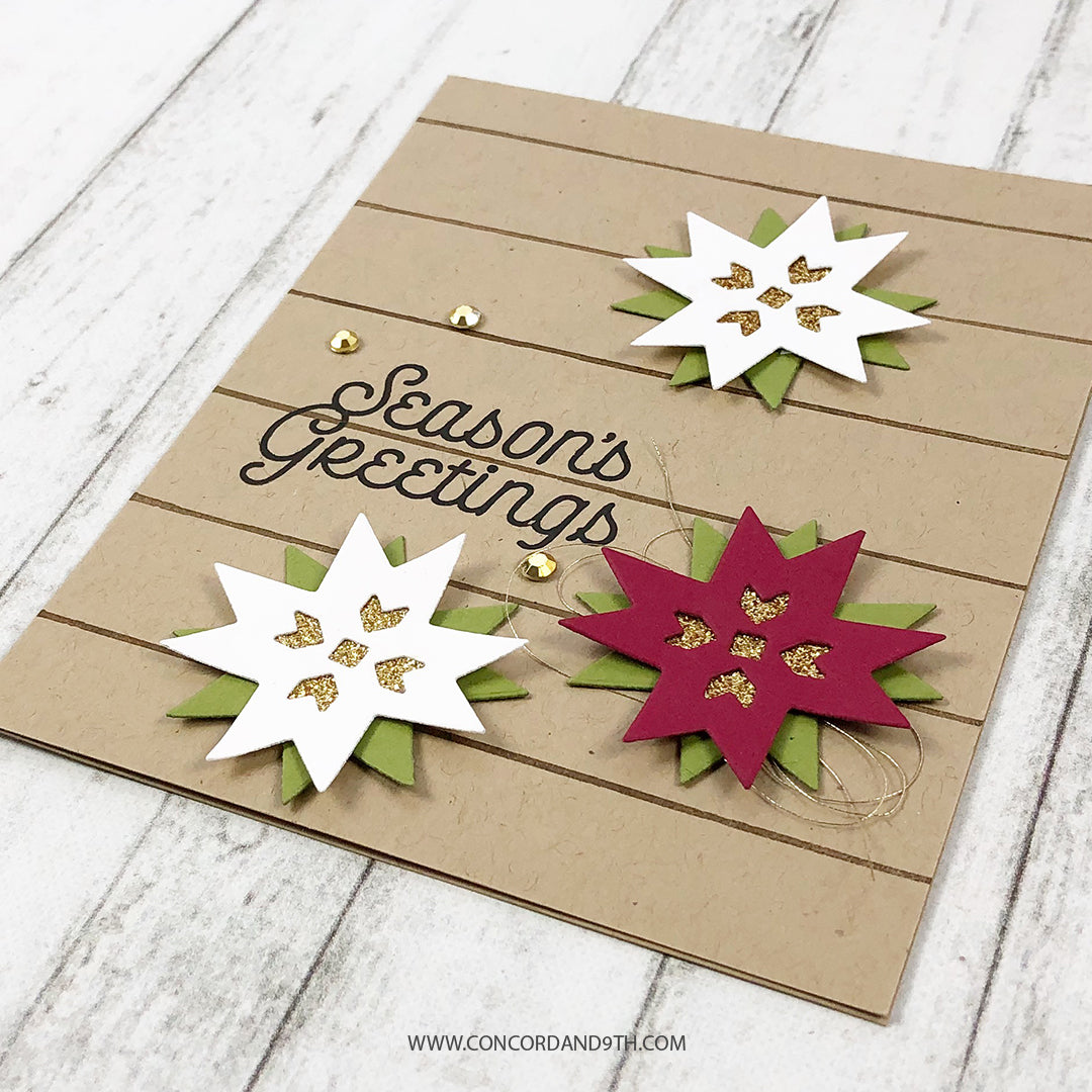 Very Merry Sentiments Stamp Set