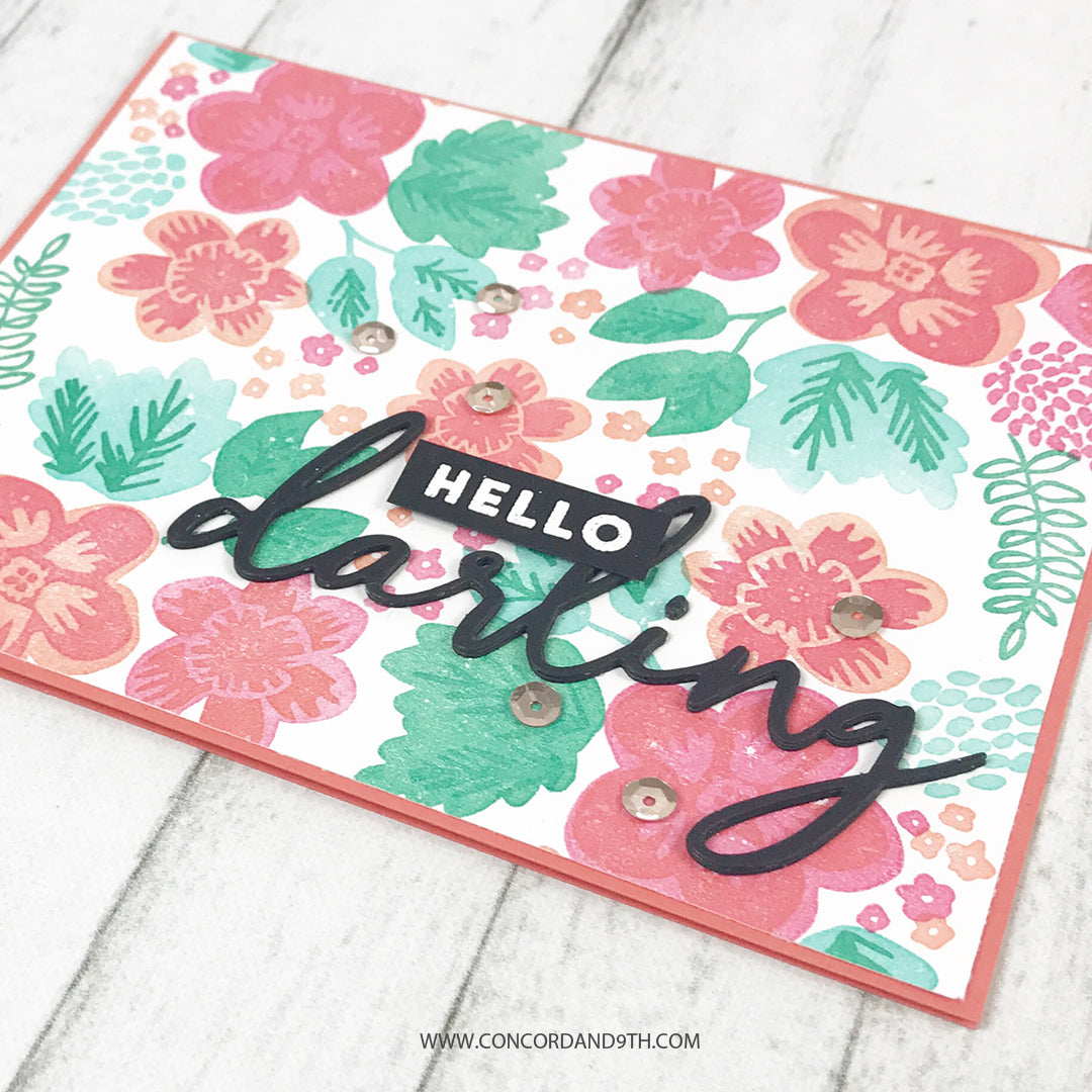 Darling Petals Turnabout™ Stamp Set