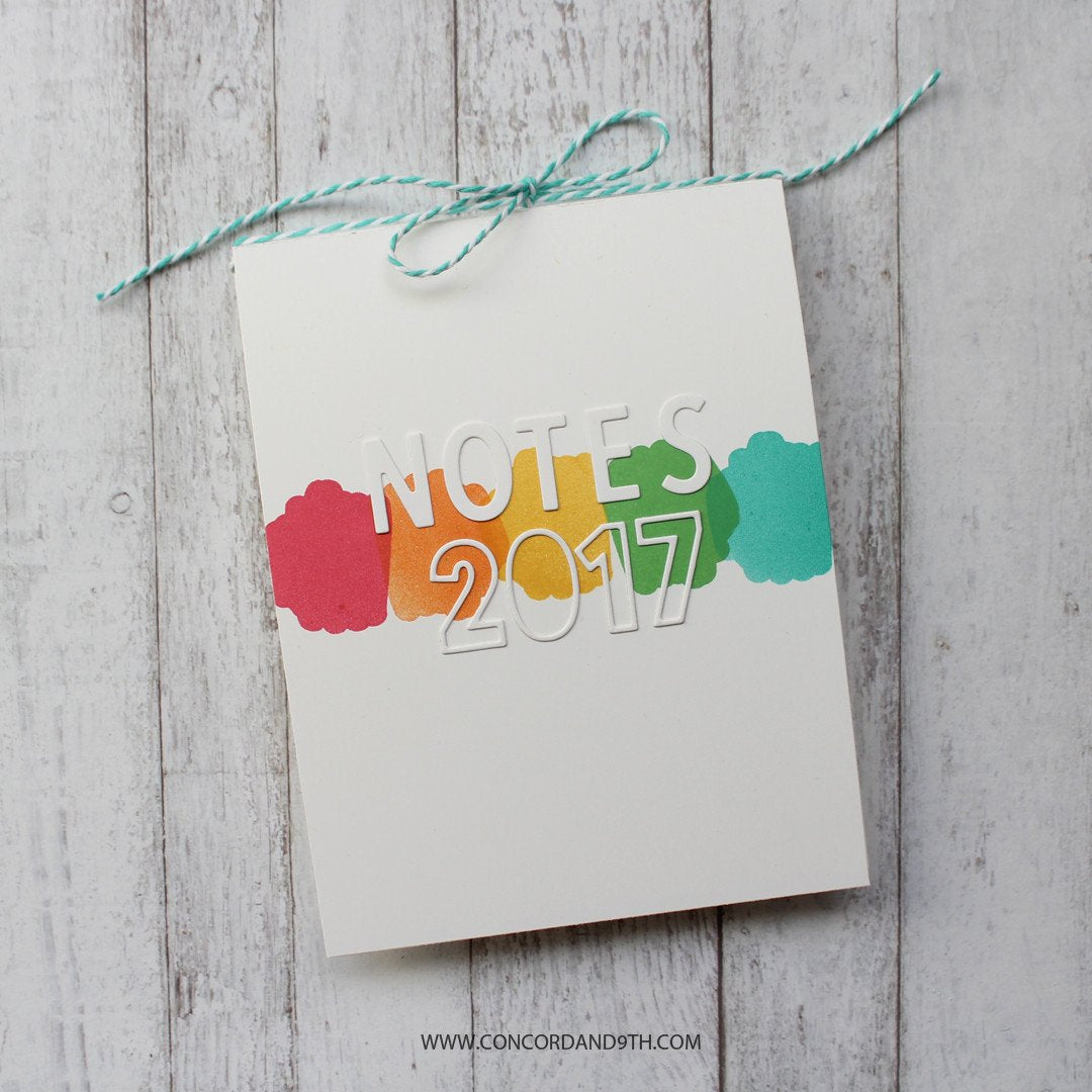 Background Blocks Stamp Set