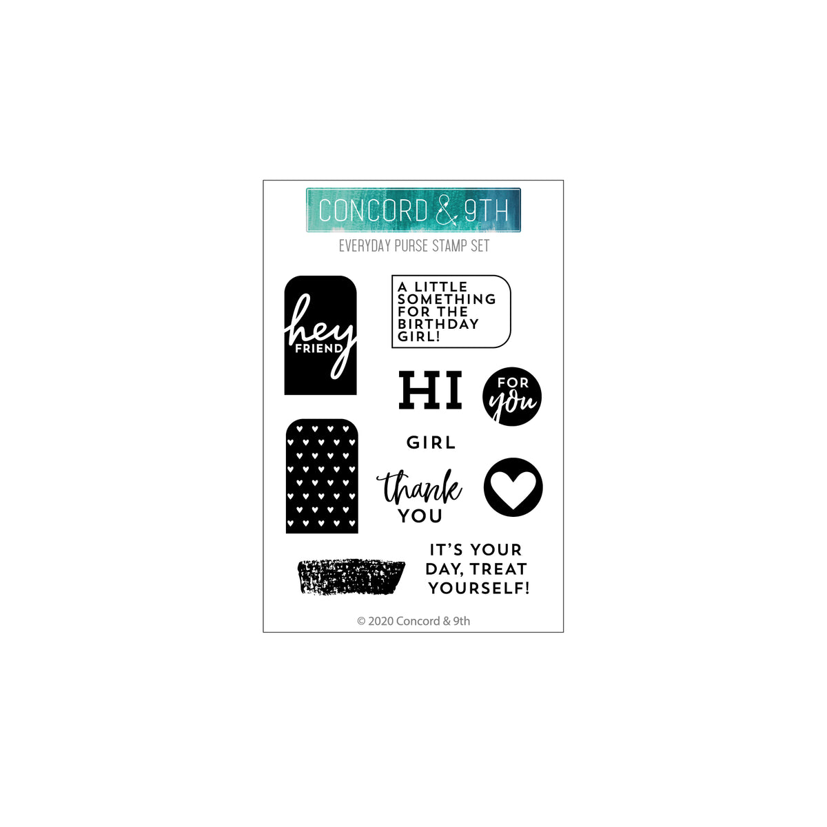 Everyday Purse Stamp Set
