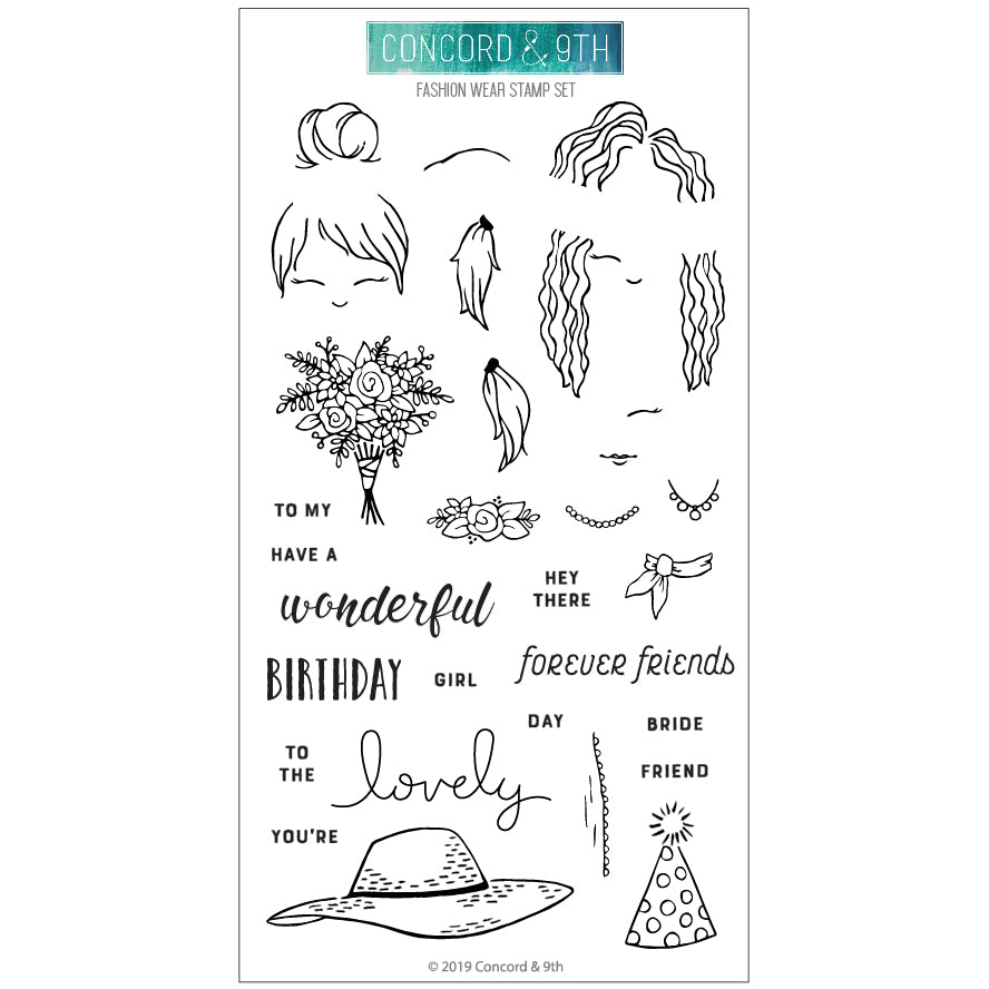 Fashion Wear Stamp Set