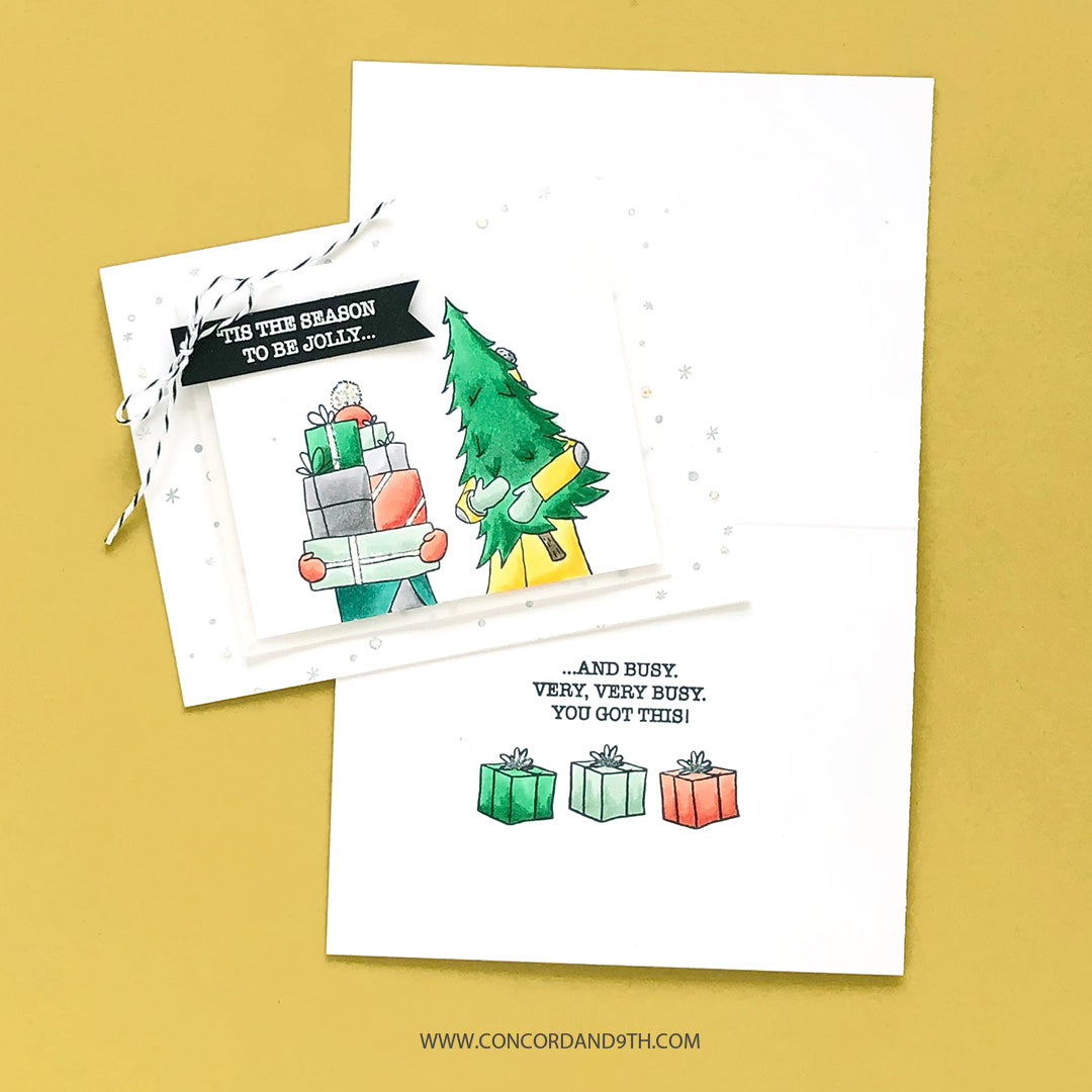 Let It Snow Turnabout™ Stamp Set