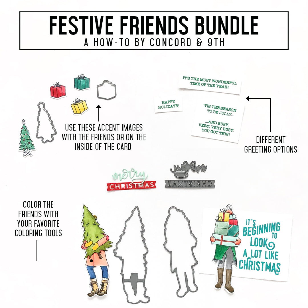 Festive Friends Stamp Set