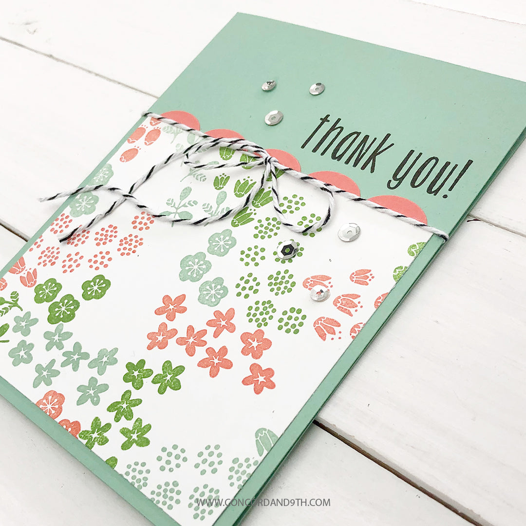 Flower Patch Turnabout™ Stamp Set