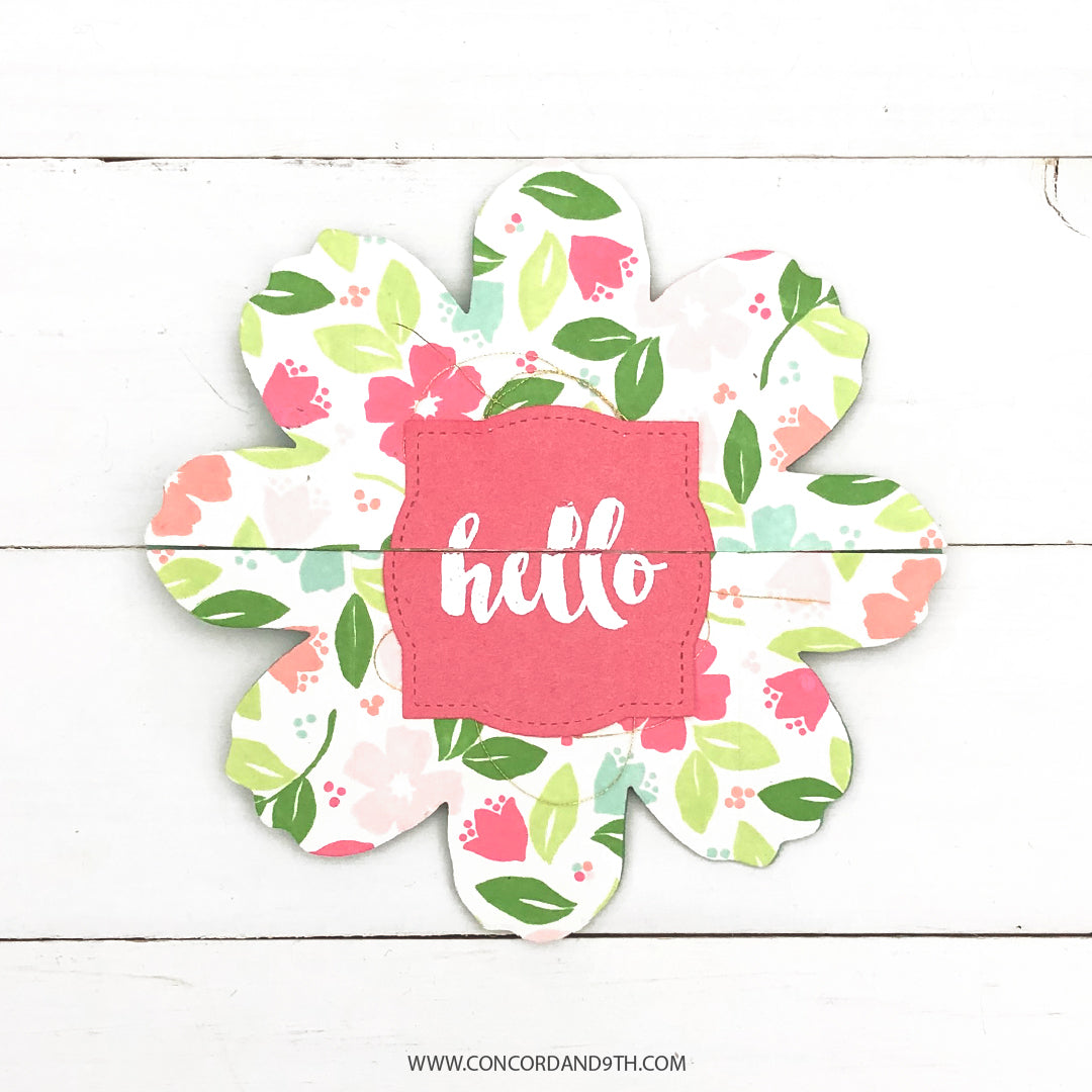 Stitched Blooms Stamp Set