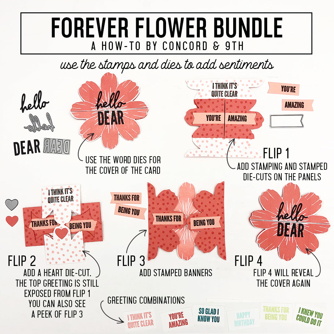 Forever Flower Stamp Set