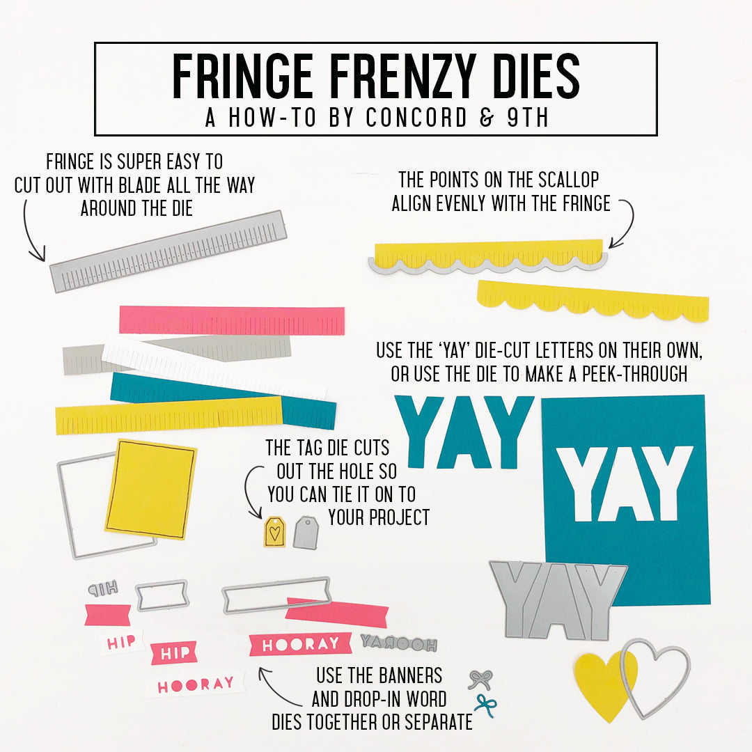 Fringe Frenzy Kit