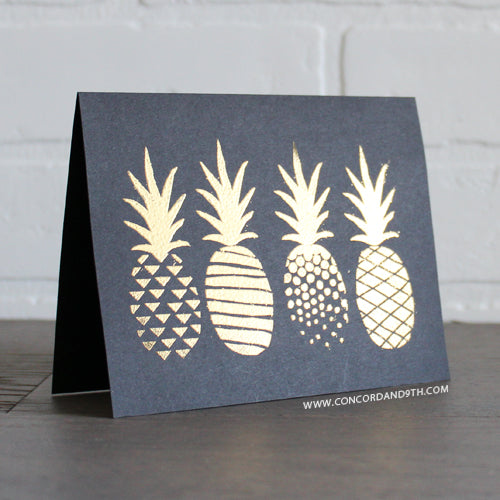 Pop Art Pineapple Stamp Set