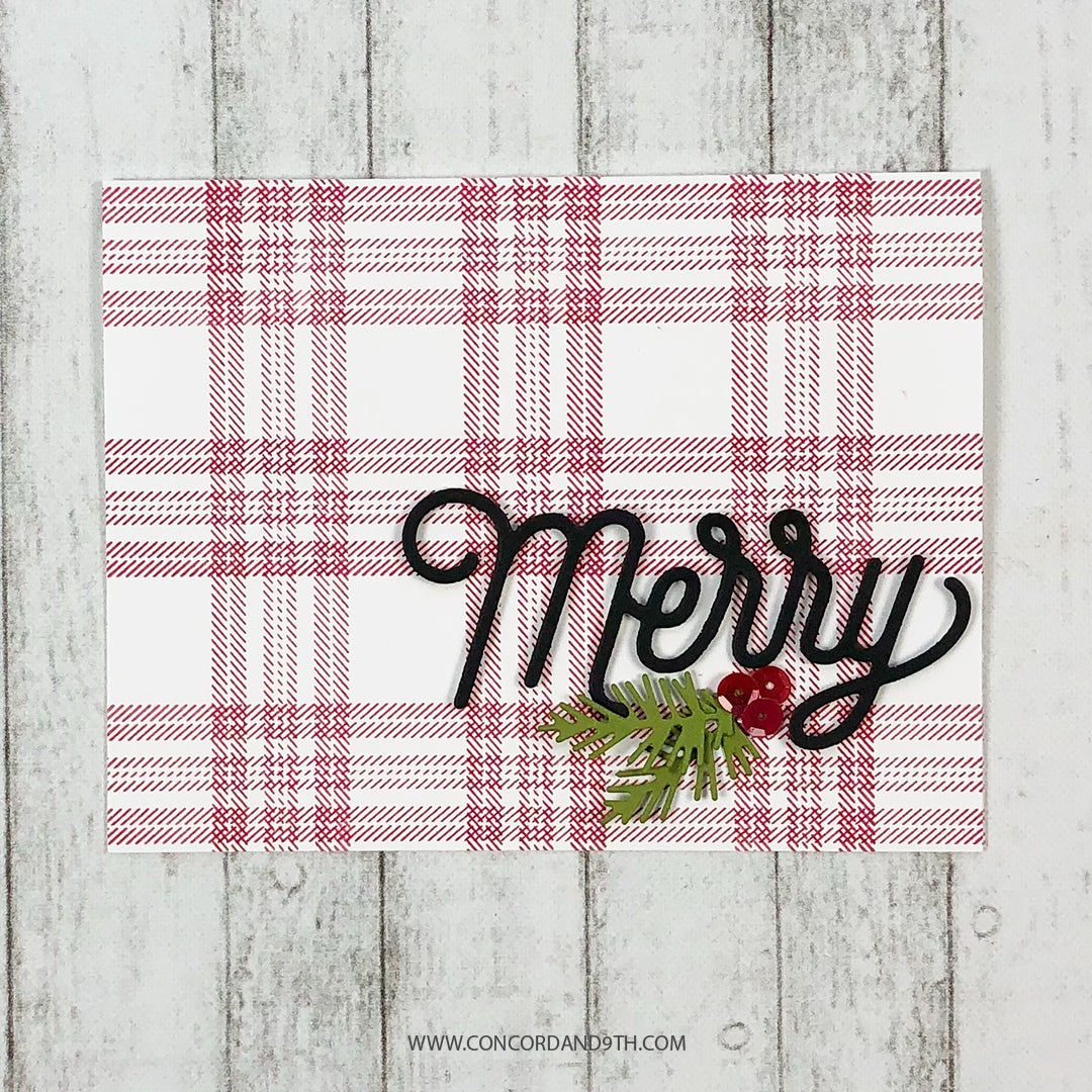 Happy Plaids Stamp Set