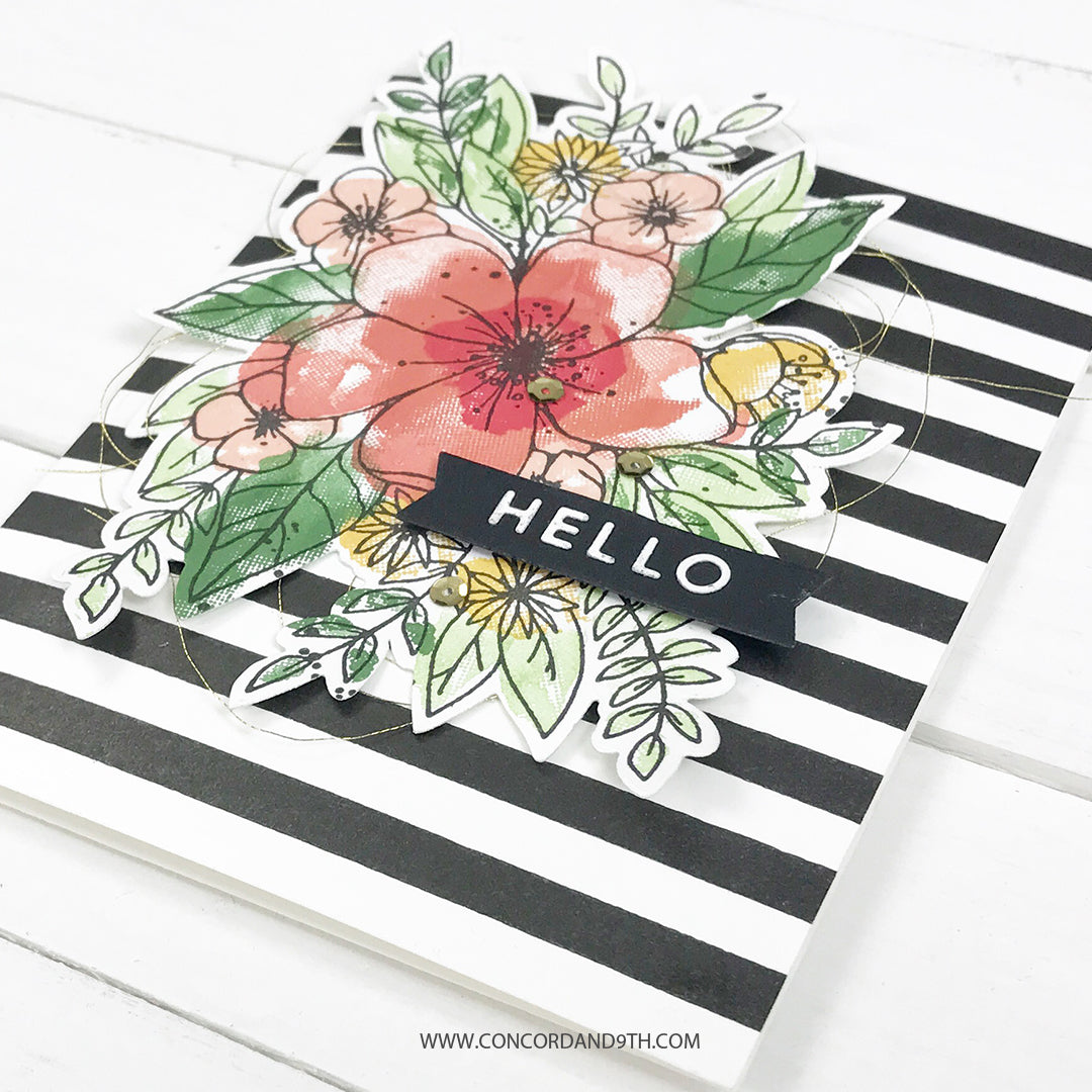 Hello Lovely Stamp Set