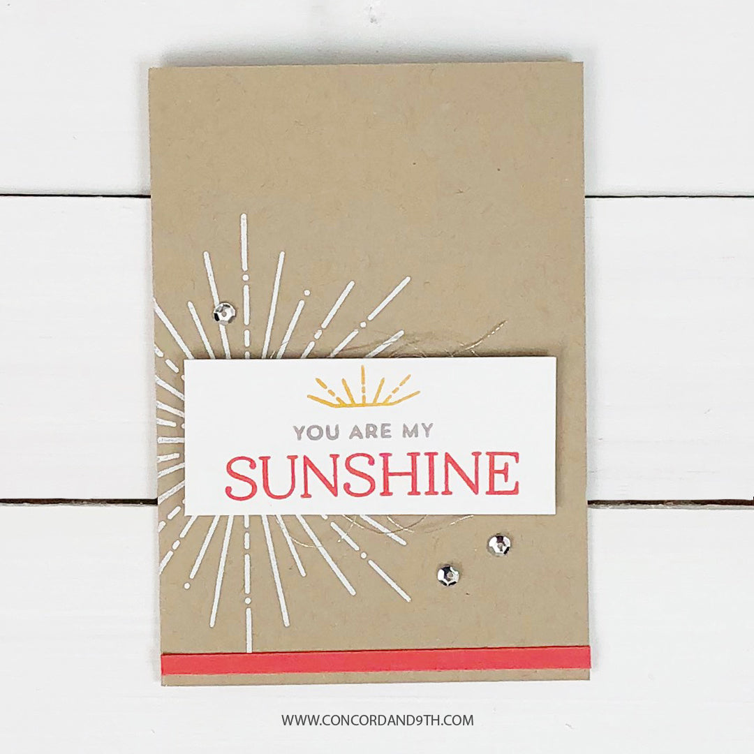 Hello Sunshine Turnabout™ Stamp Set