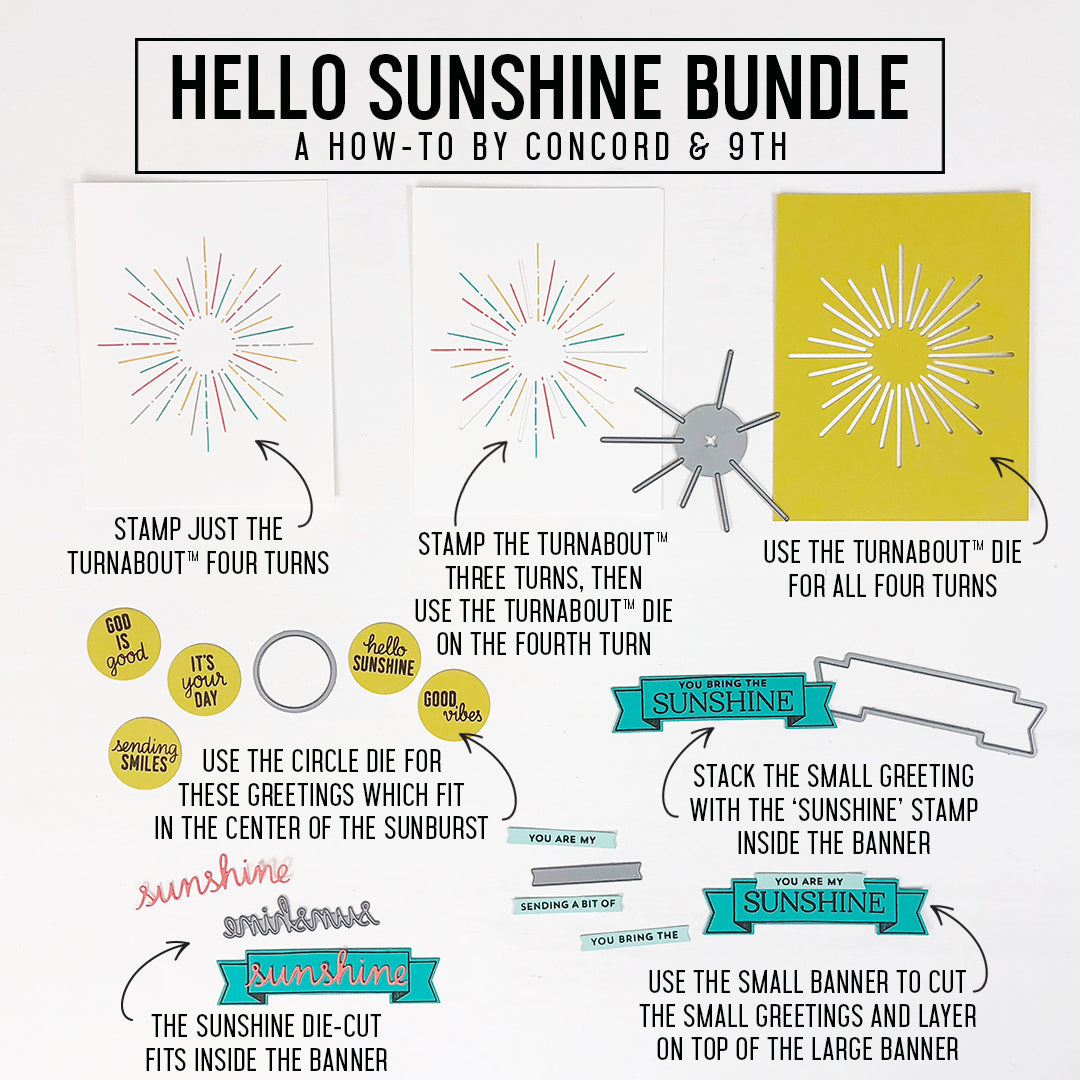 Hello Sunshine Turnabout™ Bundle