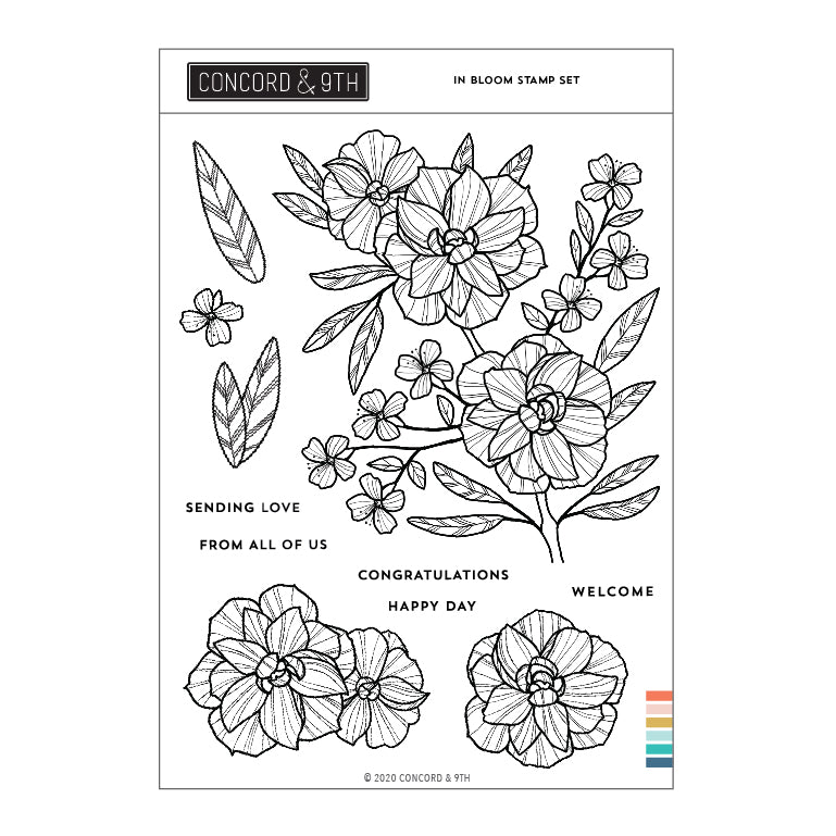 In Bloom Stamp Set