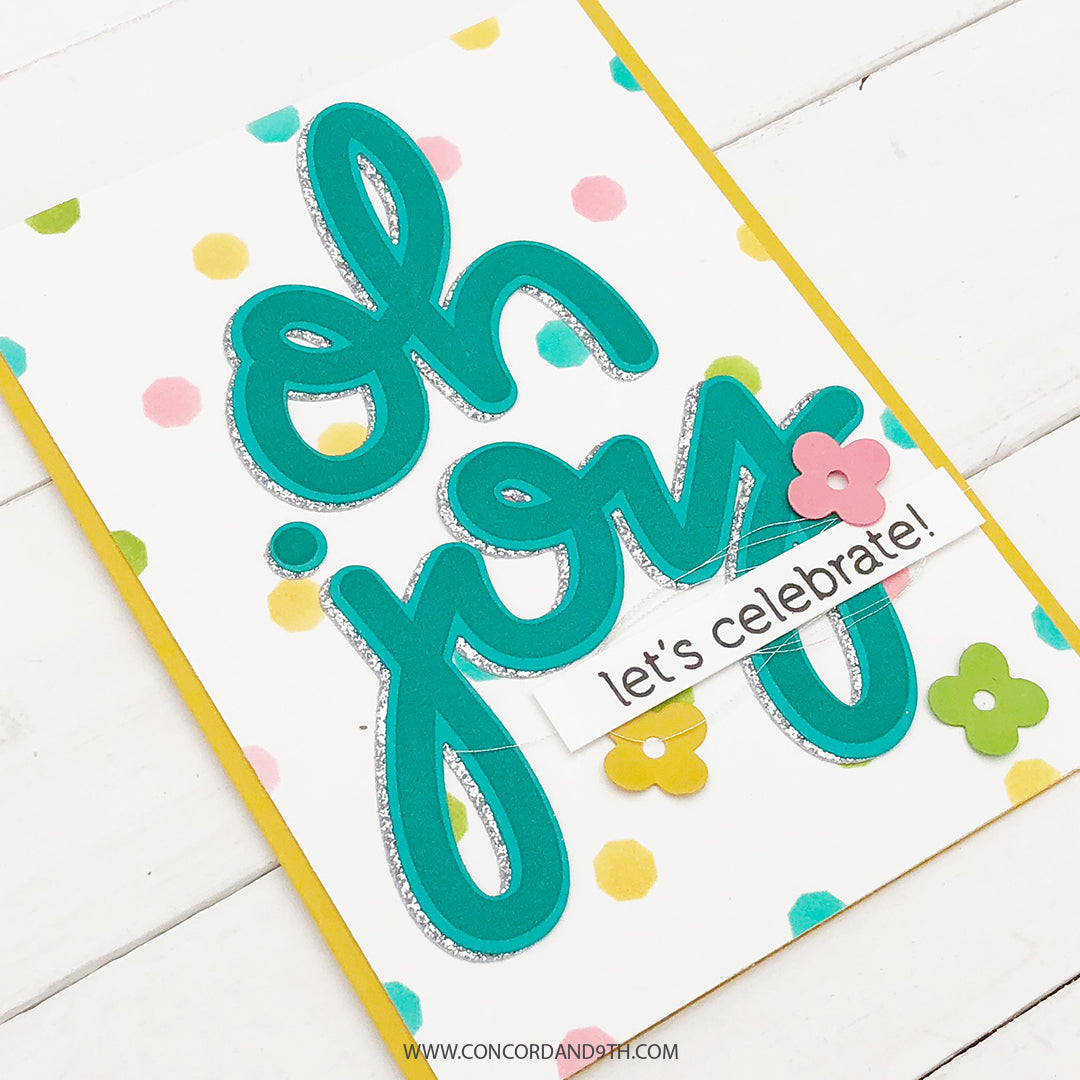Joyful Tiles Turnabout™ Stencil Pack
