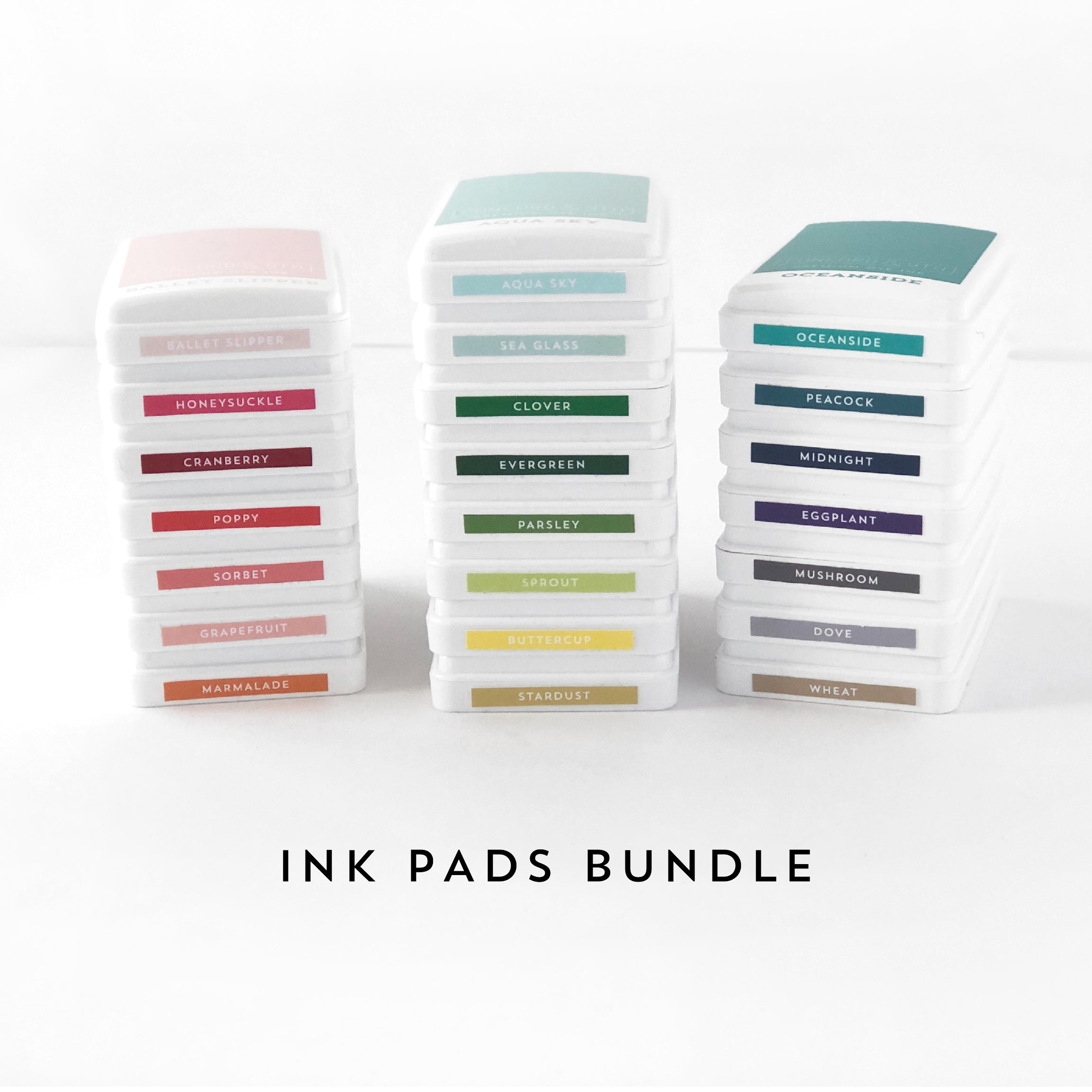 Ink Pads Bundle