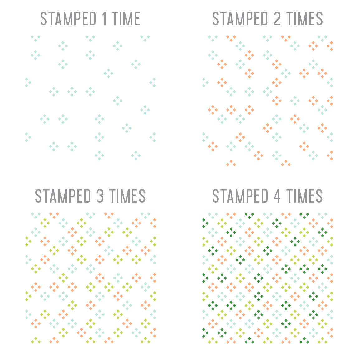 Lovely Lattice Turnabout™ Stamp