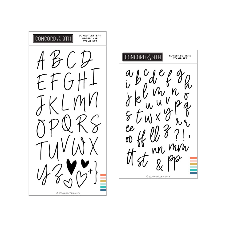 Lovely Letters Bundle