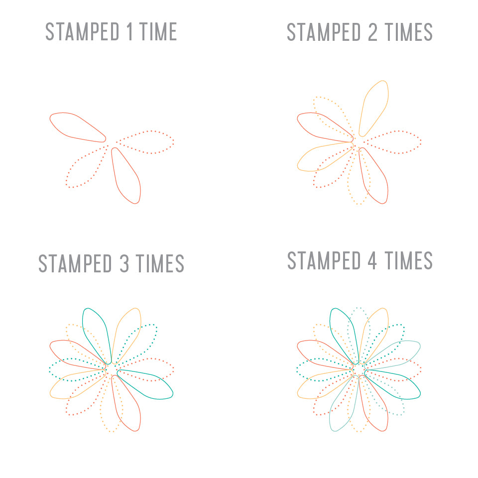 Mini Spirograph Turnabout™ Stamp Set