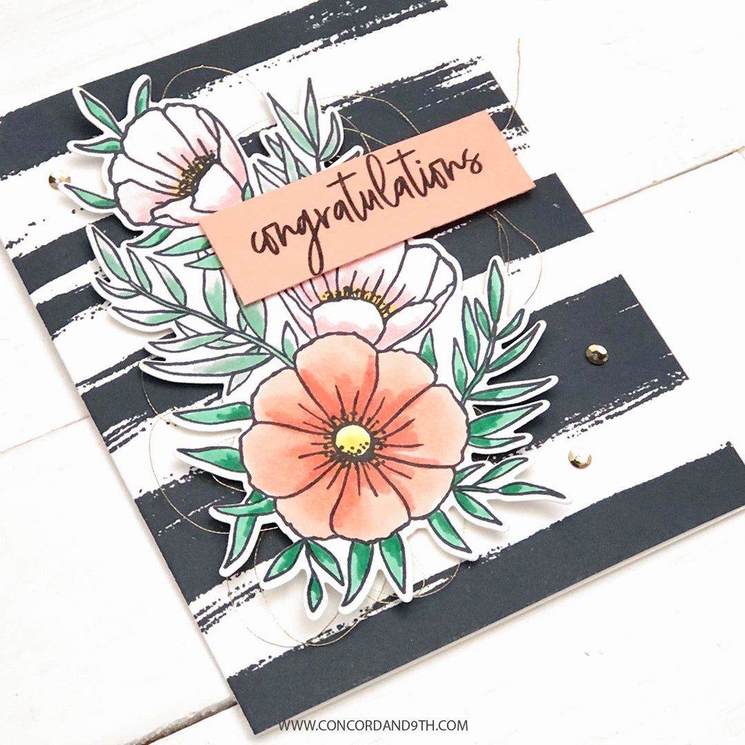 Meadow Blossoms Stamp Set