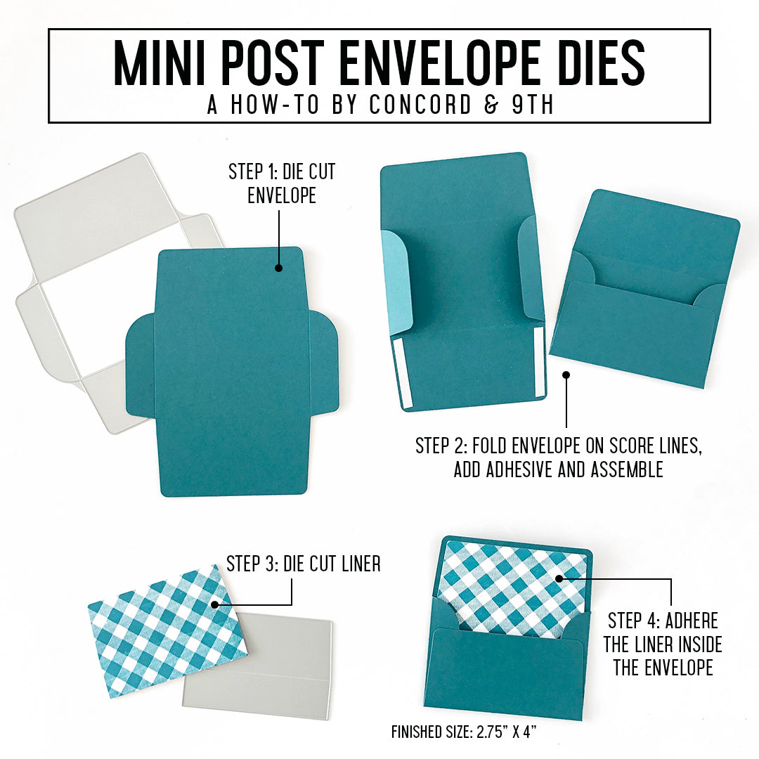 Mini Post Envelope Dies