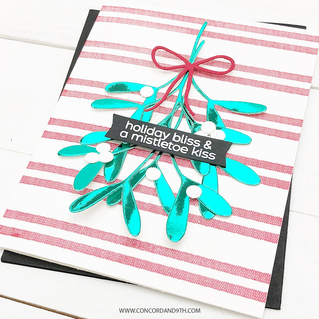 Woven Stripes Background Stamp