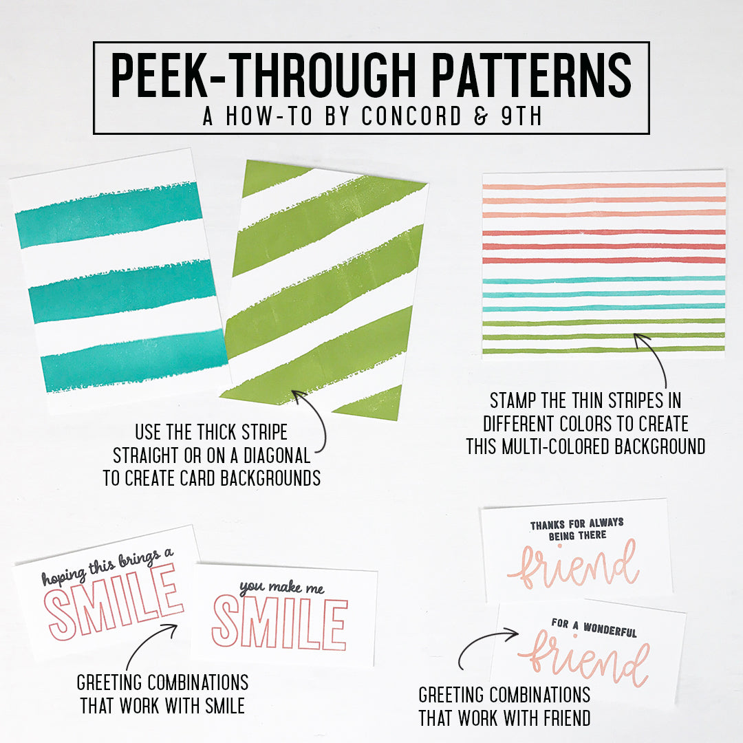 Peek-Through Patterns Bundle