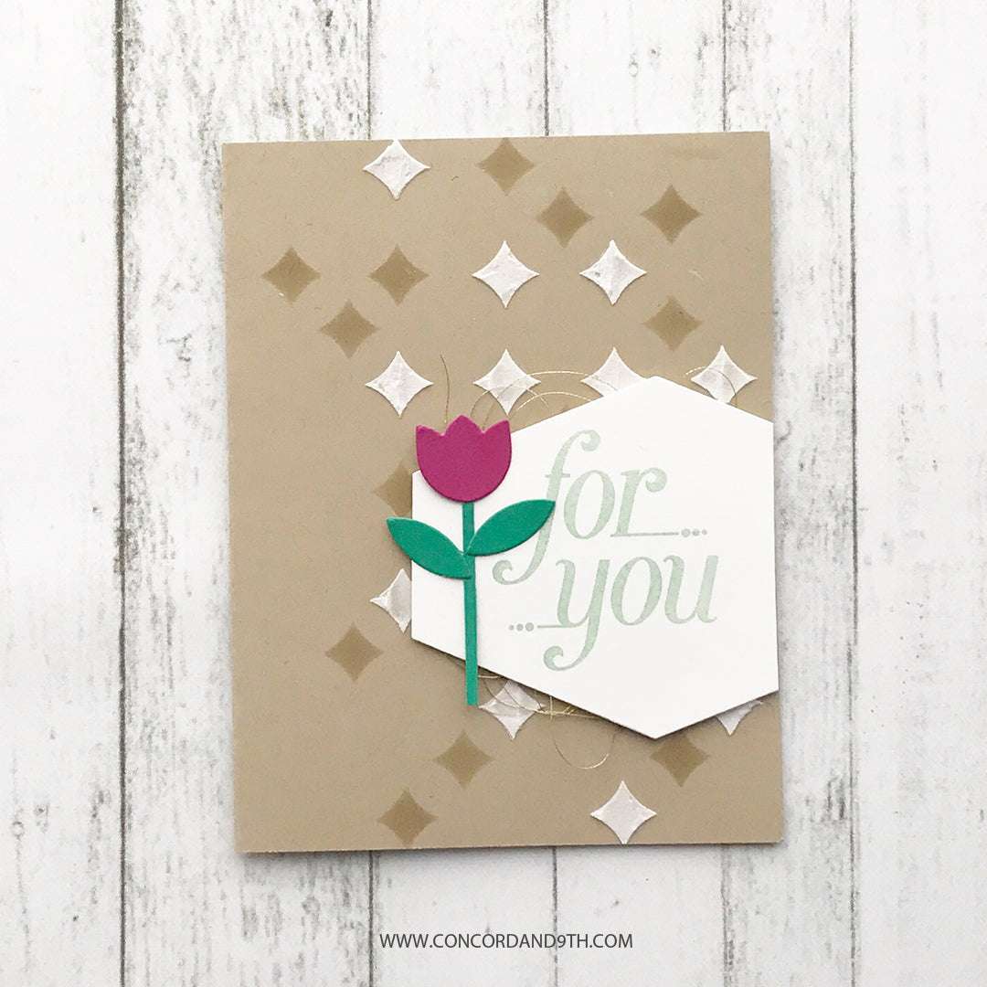 Retro Petals Turnabout™ Stamp Set