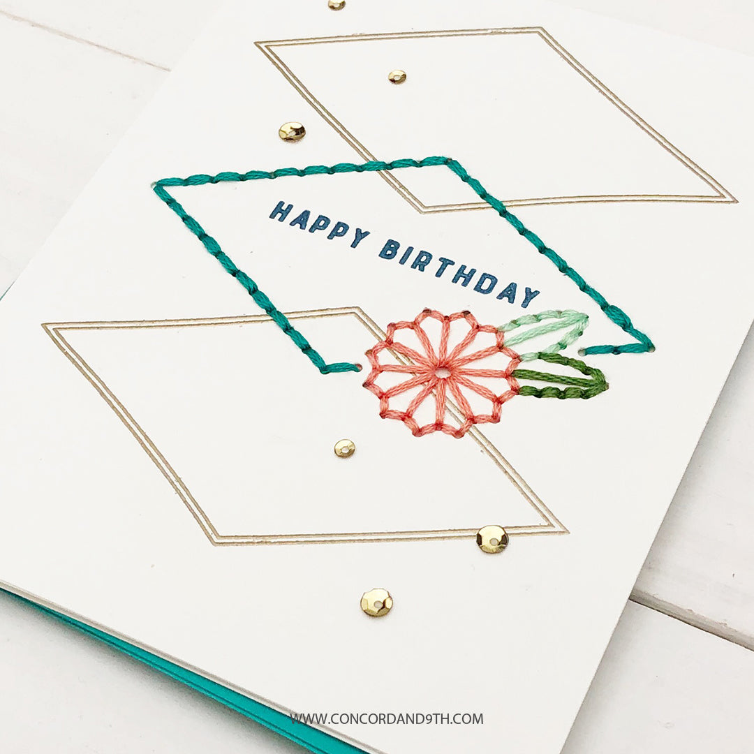 Sew Pretty Stamp Set