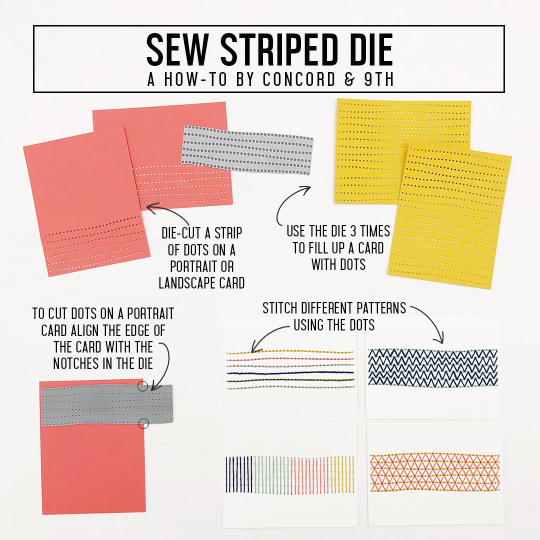 Sew Striped Die