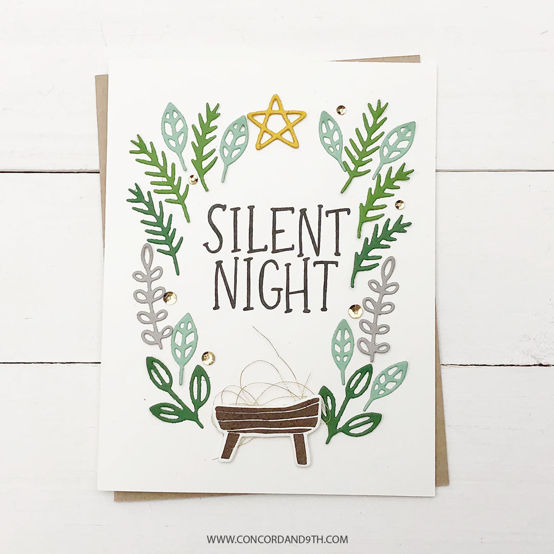 Sew Silent Night Dies