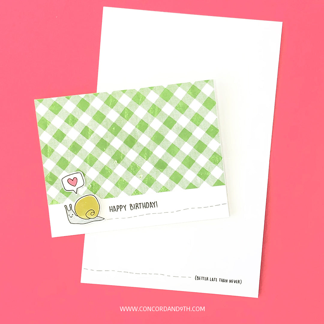 Snail Mail Stamp Set